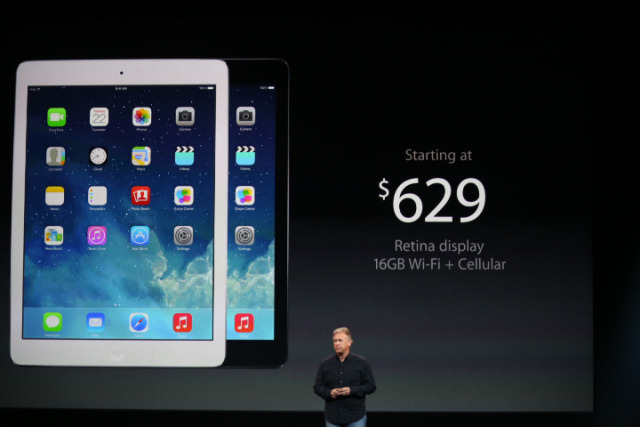 iPad Air cellular model price