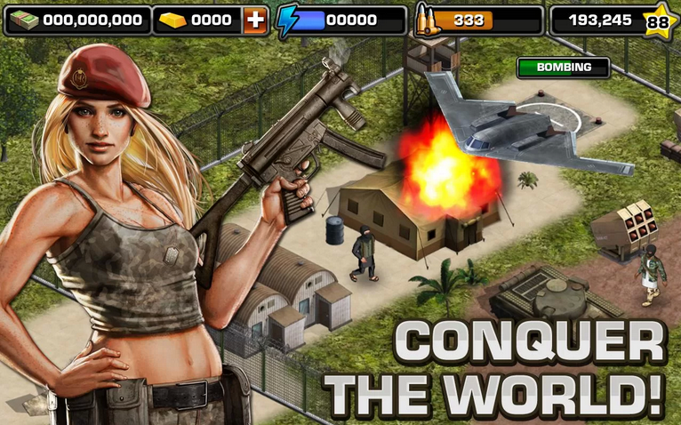 modern war world domination android app
