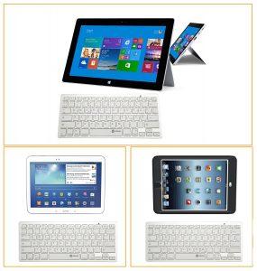 iclever cross platform ultra slim wireless keyboard