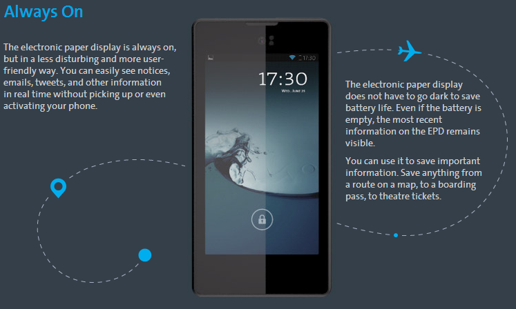 Dual Screen YotaPhone Is Available With Two 4.3″ Touch Screens