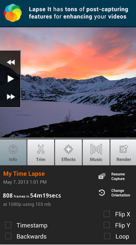 Lapse It pro android