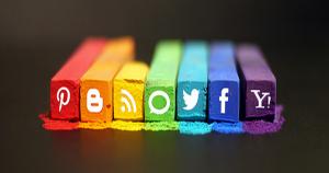 increase social presence as business