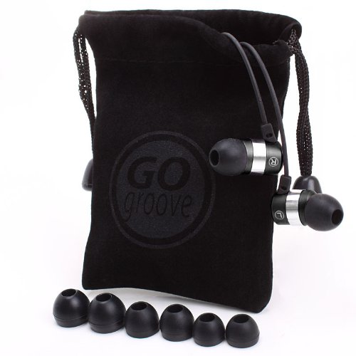 GoGroove Ergonomic earphones with Mic
