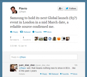 Samsung Galaxy S5 To Be Released In March