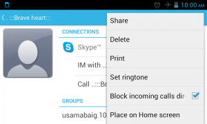 block phone calls and text messages on android phones