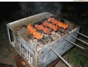 use CPU as BBQ kit