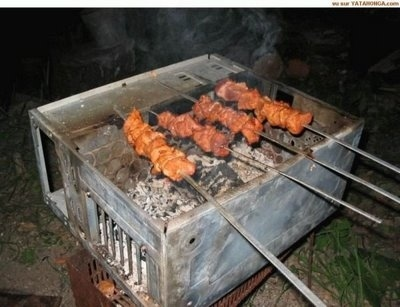 use CPU as BBQ kit