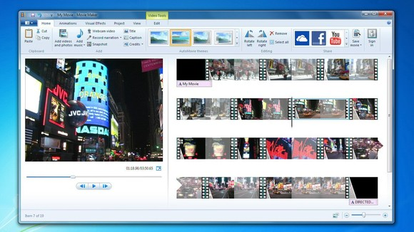 windows movie maker - best free and paid video editing software for students
