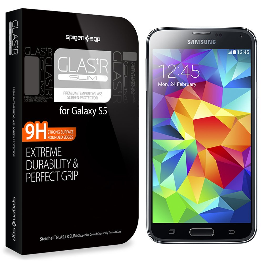 SPIGEN HD galaxy S5 screen protectors