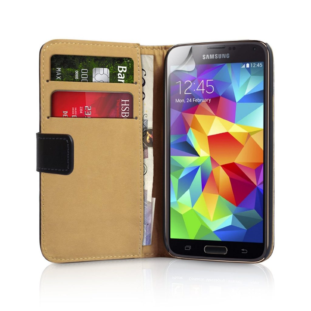 caseflex leather case - best samsung galaxy s5 cases