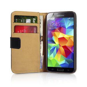 caseflex leather case - best samsung galaxy s5 cases