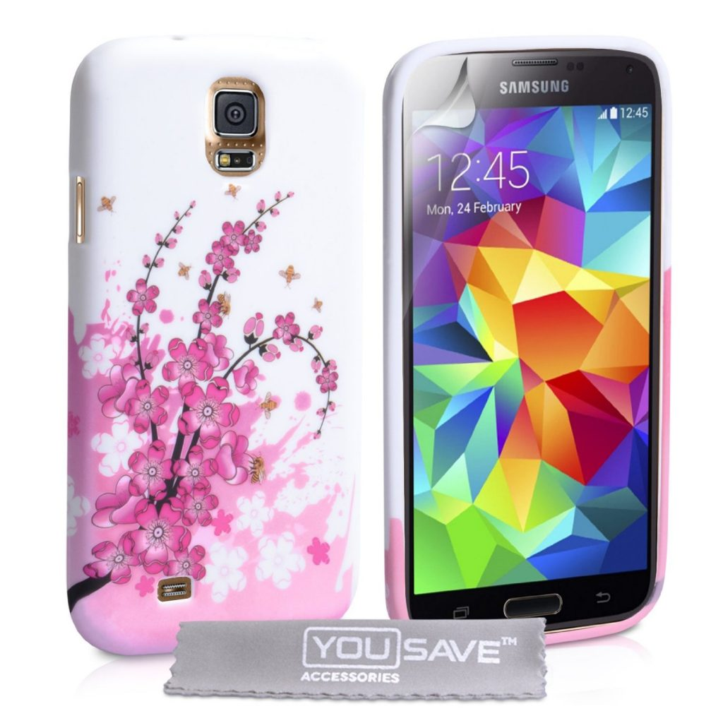floral case protection for galaxy s5