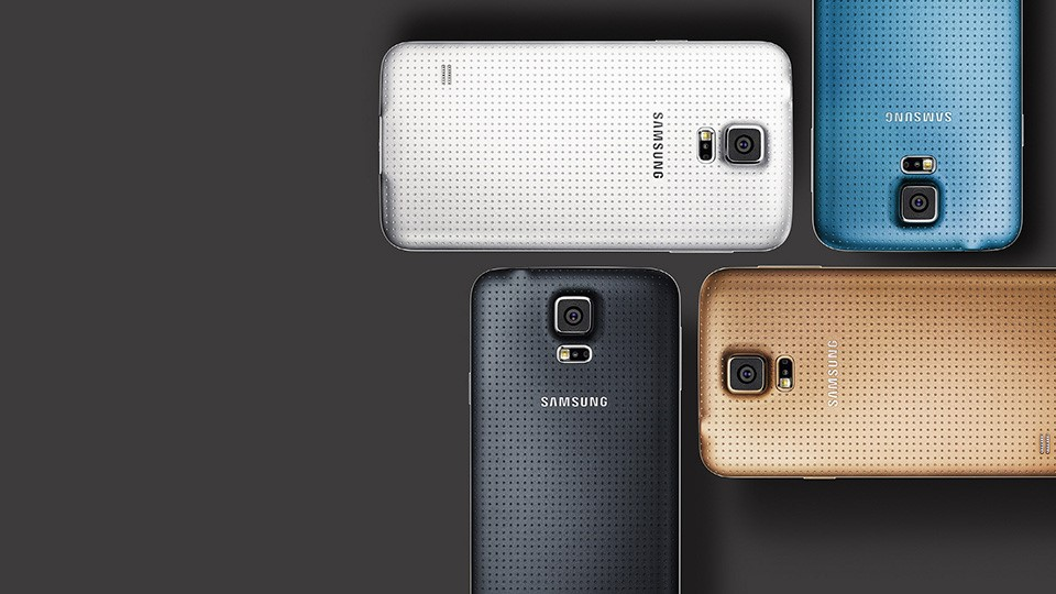galaxy s5 color range - galaxy s5 features