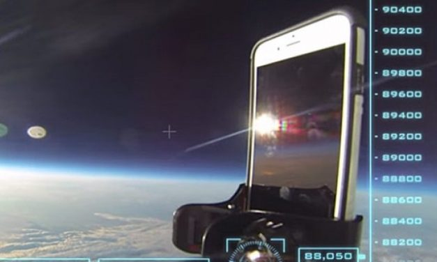 iPhone 6 Space Drop Test