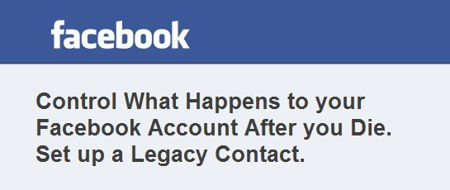 Facebook Legacy Contact – What Happens after your death.