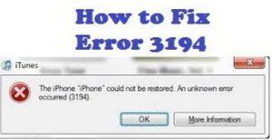 error-3194-iphone-fix