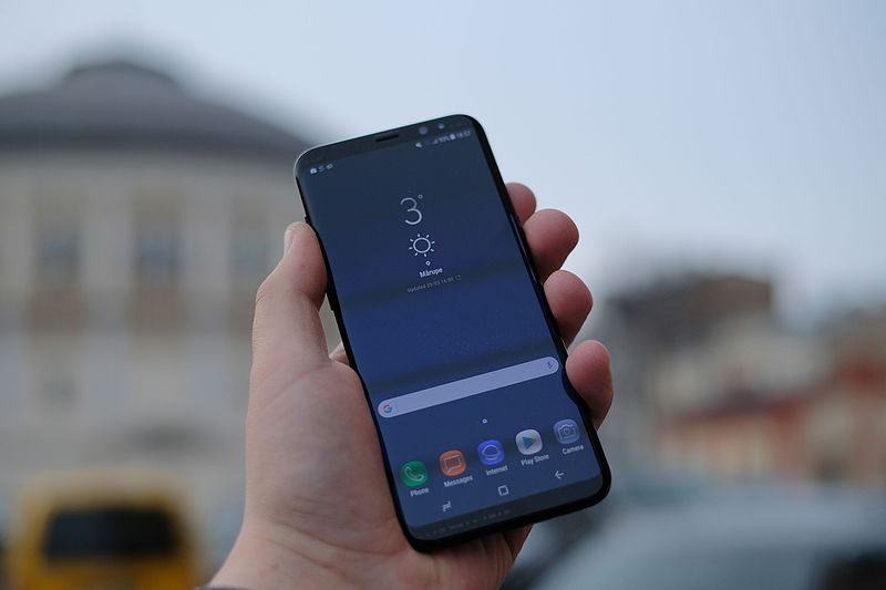 How to Set up  Fingerprint Sensor on the Samsung Galaxy S8